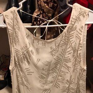 Alice + Olivia Dresses - Alice+olivia white sequins silk dress 2